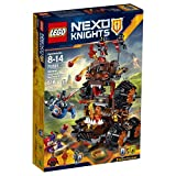 LEGO Nexo Knights 70321 General Magmar's Siege Machine of Doom Building Kit (516 Piece)