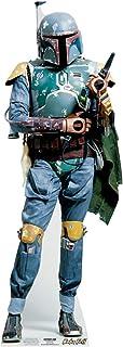 Star Cutouts Ltd SC902 Boba Fett Mini Star Wars Cartón Recorte Altura 96cm para Aficionadores, Fiestas y Coleccionistas, M...