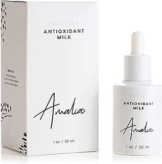 Antioxidant Milk Vitamin C Serum. Brightening Formula with Anti-Aging Niacinamide (B3) & Antioxidant Packed Phloretin. All Skin Types