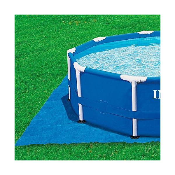 Intex 28048 – Tapiz 472 cm para piscinas de: 244, 305, 366 y 457 cm