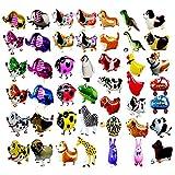 RETON 20pcs Animaux de Ballons Animaux de Compagnie, air Walker Ballons, kit de Ballon en Aluminium Helium Foil Mylar pour Enfants fête d'anniversaire fête de Naissance décoration Enfants Cadeau