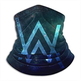 Alan Walker DJ Fleece Winter Neck Warmer for Men Women Ski Neck Gaiter Cover Face Mask