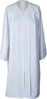 Unisex Adult Matte Graduation Gown Only Choir Robes,12 Colors Option