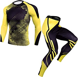NIEWEI-YI Winter Thermal Underwear Sets Compression Quick Dry Thermo Male Warm Long Johns