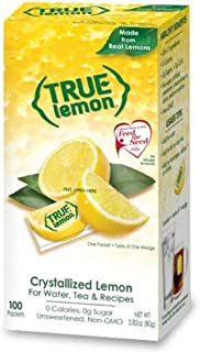 True Lemon Bulk Dispenser Pack, 0.028 Ounce  (100 Packets)