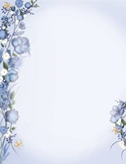 Geographics Floral Dream Premium Letterhead, 8.5 x 11 Inches, 50-Sheet Pack (49831)
