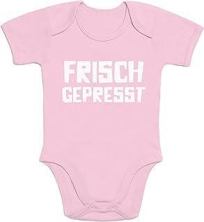 Shirtgeil Frisch Gepresst - Witziger Baby Spruch Baby Body Kurzarm-Body