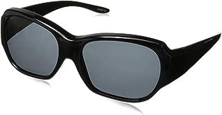 Solar Shield Unisex-Adult Santa Monica 2NSCF3.COM Polarized Rectangular Sunglasses
