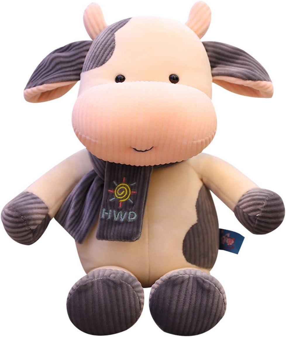 Cuddly Big Soft Toys Scarf Cow Animals 国内送料無料 Plush Doll T 新着セール Stuffed