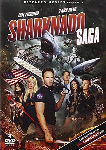 Rai Cinema Dvd sharknado (4 dvd)