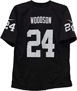 Nike Charles Woodson Oakland Raiders Team Color Youth Game Jersey