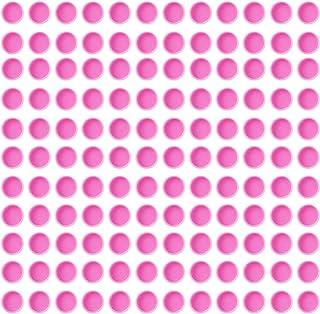 Beaupretty 100St Wimper Lijm Cups Wimper Lijm Houder Wimper Verlenging Benodigdheden Voor Vrouwen Dame Thuiswinkel Roze