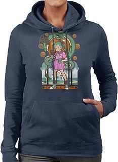 Cloud City 7 Dragon Ball Z Bulma Shenron Women's Hooded Sweatshirt