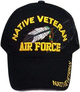 Native Pride Baseball Caps Native Veteran - Air Force (CapNp479 Z)