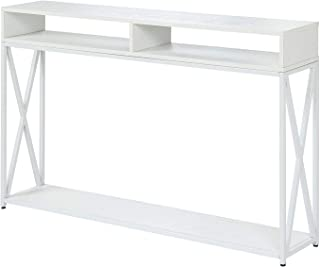Convenience Concepts Tucson Console Table, White