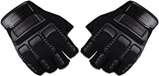 قفازات رياضية شتوية بنمط يغطي نصف الاصابع للجنسين موديل 2724539225465