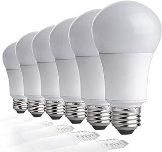 TCP LA927KND6 60 Watt Equivalent LED Light Bulbs | Shatter Resistant | Energy Efficient (9W