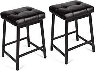 Best comfortable backless bar stools Reviews