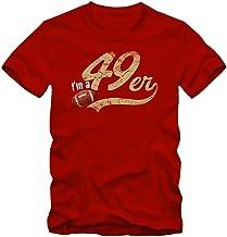 I'm a 49er #1 T-Shirt Football Herren Super Bowl Play Offs SF