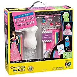 Best Toys for 10 Year Old Girls-Creativity for Kids Fashion Design Kit