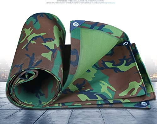CAOYU Camouflage bache imperméable à l'eau de Prougeection Solaire Toile Tente Tissu Tricycle Voiture Hangar Tissu Anti-corrosif Anti-corrosif