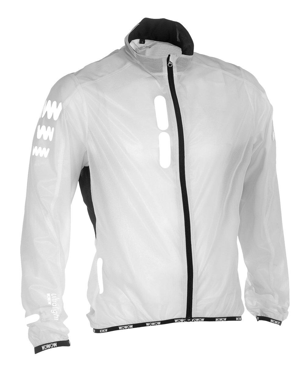 WOWOW Fahrradjacke XXL Supersafe Ultraleicht 130gr - Hohe Sichtbarkeit - Windsto