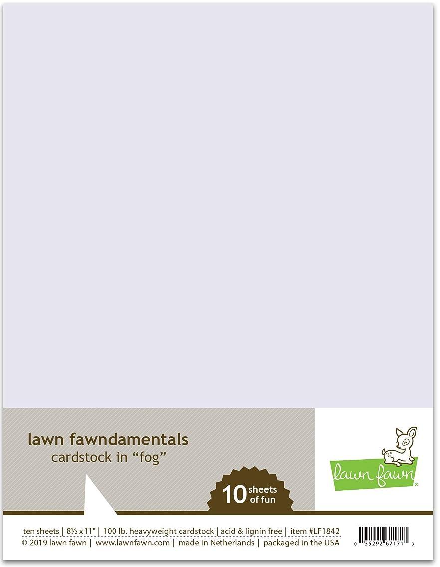 Lawn Fawn 100lb Heavyweight Cardstock - Fog LF1842