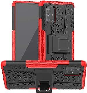 SKTGSLAMY Galaxy A71 5G Case,Samsung A71 5G Case, [Shockproof] Tough Rugged Dual Layer Protective Case Hybrid Kickstand Co...