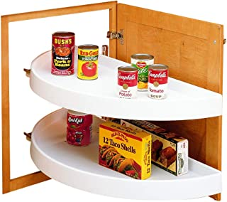 Rev-a-Shelf Half Moon 2 Shelf Pivot & Pull Lazy Susan