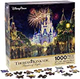 """Created Exclusively For Disney Theme Parks And Resorts 1,000 Pieces Assembled approx: 20"""" x 27"""" Artist: Thomas Kinkade Made in USA"""