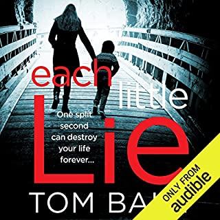 Each Little Lie audiobook cover art