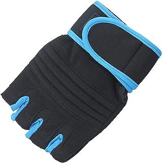 MISS&YG Hommes Respirants et Les Femmes de Fitness Gants antidérapants équipement haltères Demi-Doigts Gants de Sport de Poignet Chaussures de sport