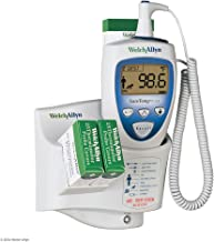 Welch Allyn 01692-200 SureTemp Plus Model 692 Electronic Thermometer, Wall Mount, Security System with ID Location Field, Oral Probe with Oral Probe Well