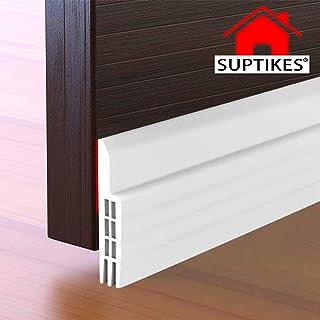 Suptikes Door Draft Stopper Under Door Seal for Exterior/Interior Doors, Door Sweep Strip..