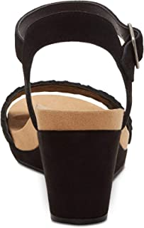 Lucky Brand Womens Kenette Leather Open Toe Casual Ankle Strap Sandals US