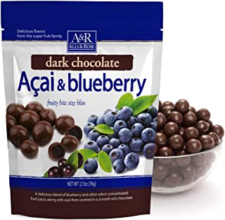 Alli & Rose Acai & Blueberry fruity bite size bliss 2 pack 2.7oz size