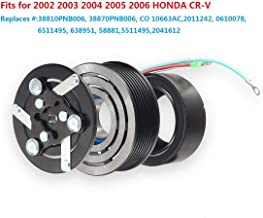 HENUO A/C Compressor Clutch Coil Assembly Kit Replacement for 2002 2003 2004 2005 2006 HONDA CR-V