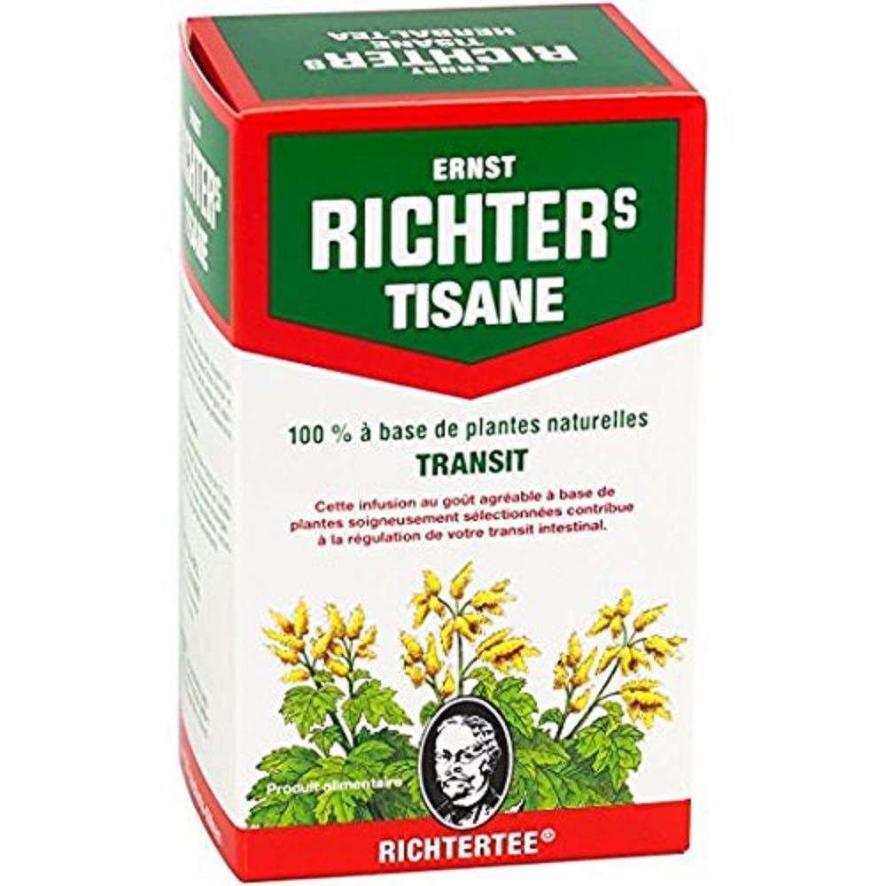Ernst Richter infusión de hierbas Tisana de hierbas 100% natural   Regulación de tránsito   1 x 20 bolsitas de 2g