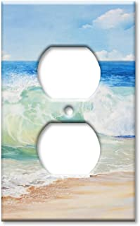 Art Plates Brand Electrical Outlet Wall/Switch Plate - Beach Painting