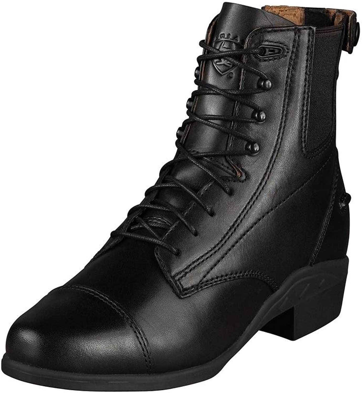 Ariat Women's Performer Zip Paddock Black boots 9 M