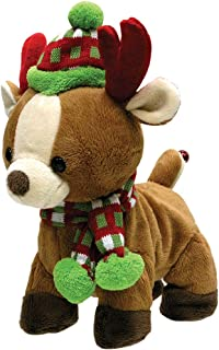 Cuddle Barn Rock And Roll Rider Dancing Christmas Reindeer
