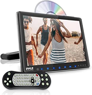 Universal Car Headrest Mount Monitor - 10.5 Inch Vehicle Multimedia CD DVD Player - Smart Audio Video Entertainment System w/HDMI & Hi-Res TV LCD Screen - Includes Mounting Bracket - Pyle PLHRDVD103