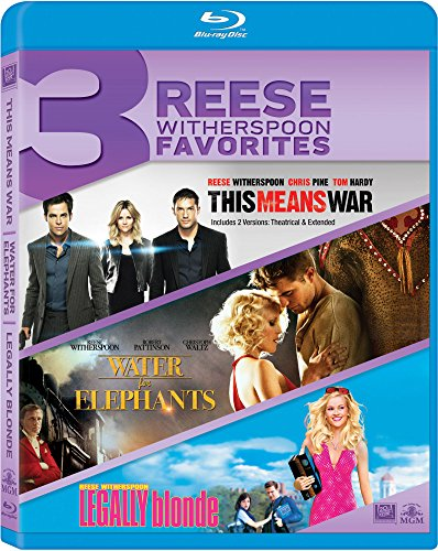 This Means War / Water for Elephants / Legally [Blu-ray]
