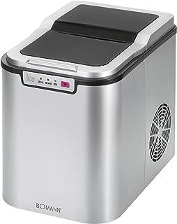 Bomann EWB 1027 CB IJsblokjesmaker voor ca. 10-15 kg ijsblokjes in 24 uur, led-display en signaaltoon bij volle ijsblokjes...