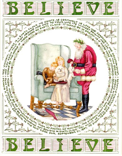 Yes Virginia Christmas Card