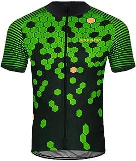 Uglyfrog New Pro Full Zipper Men's Cycling Jersey Short Sleeve Riding Shirt XSNX02