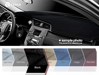Fedar for 2007-2013 Chevy Silverado Pickup/Gmc Sierra Pickup,2007-2014 Chevy Tahoe/Suburban/Acalanche/GMC Yukon Dashboard Cover Mat Pad-Black