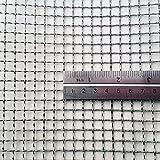 Tamaño de Agujero de 7.4mm - Acero Inoxidable 304L - Tamaño de Corte: Muestra - 3 Recuento de Malla - Malla de Alambre Tejido