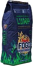 Fogo FG-CH-BRA-17 All Natural Restaurant Quality Brazilian Eucalyptus Blend Hardwood Lump Charcoal for Grilling and Smokin...