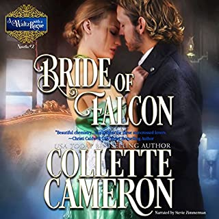 Bride of Falcon     A Waltz with a Rogue Novella, Book 2              By:                                                                                                                                 Collette Cameron                               Narrated by:                                                                                                                                 Stevie Zimmerman                      Length: 3 hrs and 15 mins     30 ratings     Overall 4.5